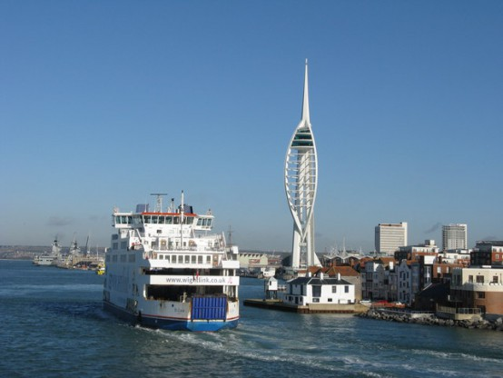 Isle of Wight Ferry in Portsmouth